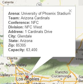 Geocoding Glendale, Arizona